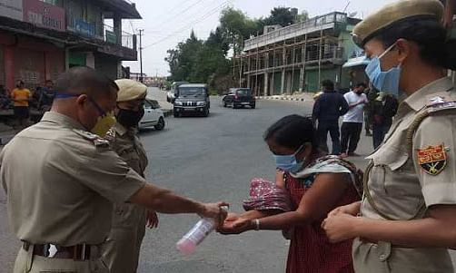 14,000 Meghalaya police on the ground to fight COVID-19