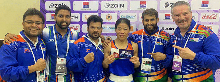 Mary Kom, Amit Panghal and 6 other Indian boxers qualify for Olympics