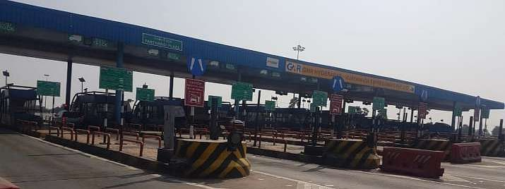 Highways toll collection suspended