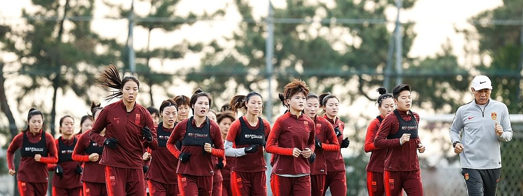 China women's football team to resume training for Olympic qualification playoffs