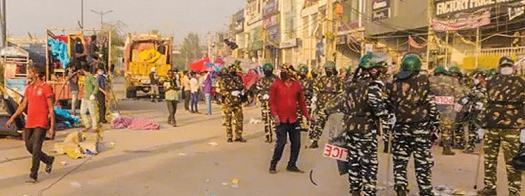 COVID-19 : Shaheen bagh protest site cleared after 101 days