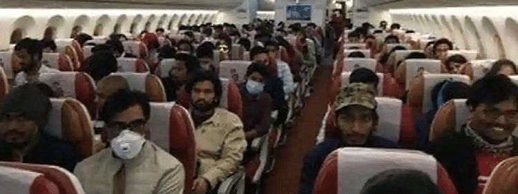 218 Indians from coronavirus-hit Italy land in Delhi, will be quarantined for 14 days