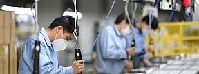 Factory workers resume work in Guangdong, China
