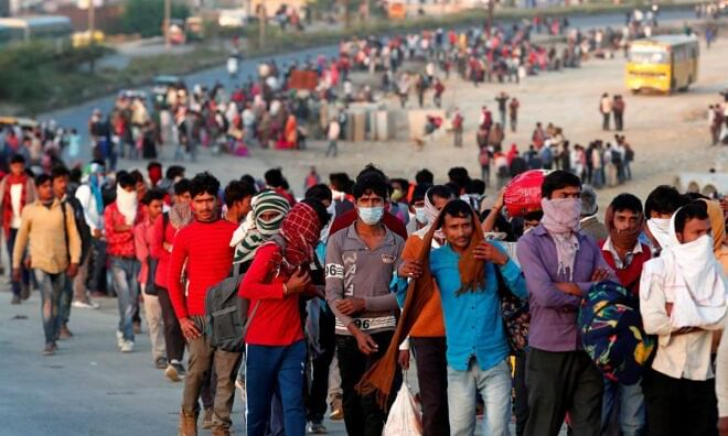 GHIAl comes forward to help Migrant Labour during lockdown