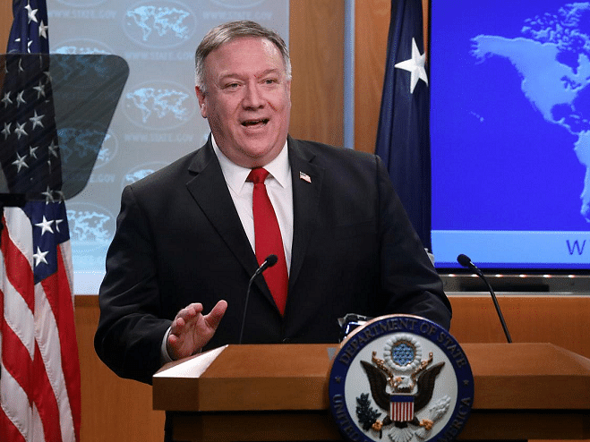 China will pay the price, says Pompeo