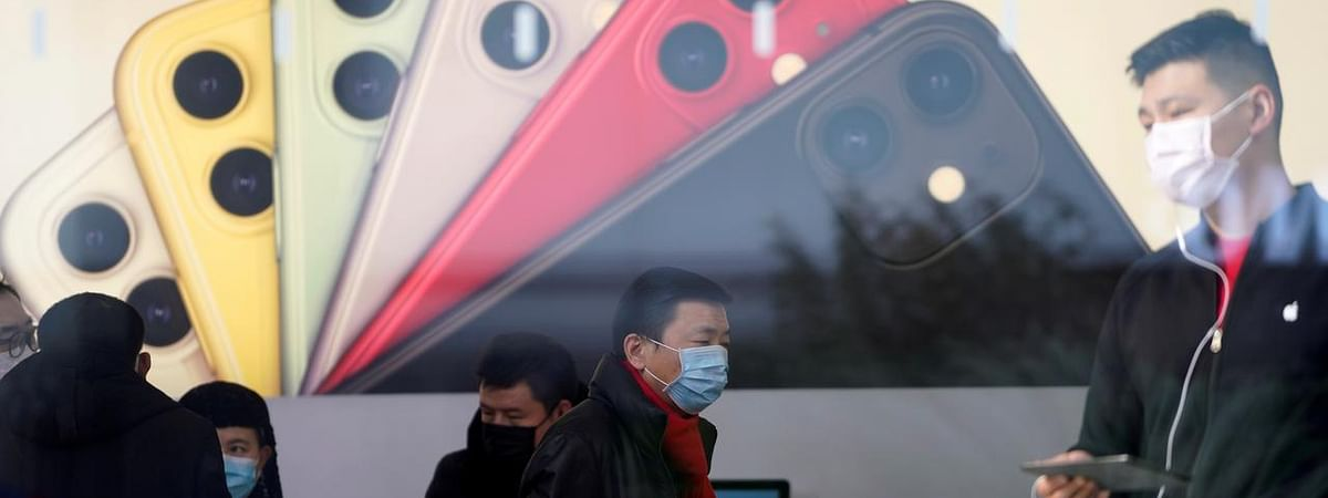Apple shipped 2.5 million iPhones in China in March