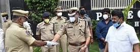 NSTI to provide 25,000 double-layered masks to Kerala Police