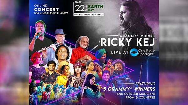 One Page Spotlight to host global online concert with Grammy award winners on Apr 22