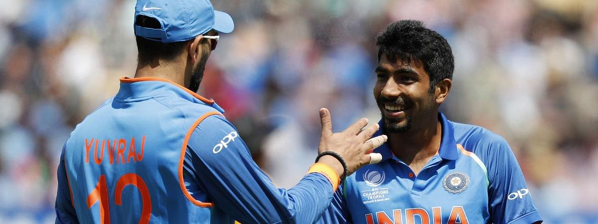 Bumrah cornered by Yuvaraj with tough questions