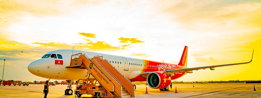 Vietjet increases its domestic flight frequency in Vietnam with ticket fares of Rs.30 only
