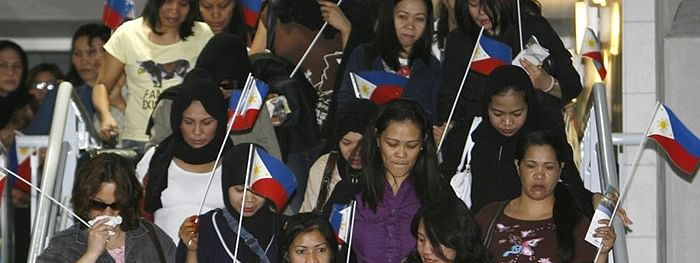 13,000 Overseas Filipino Workers returned to the Philippines