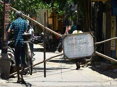 Total shutdown in Chennai, four other districts