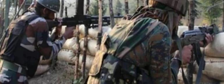 Pak again violates ceasefire, fires unprovoked on LoC in Poonch