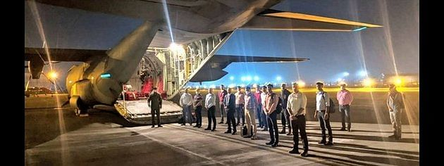 Indian medical team reaches Kuwait to fight COVID-19