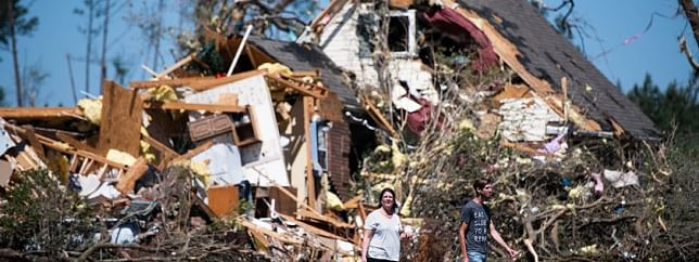 Amid Covid-19 tragedy, tornadoes wreak havoc in US south, kill over 30