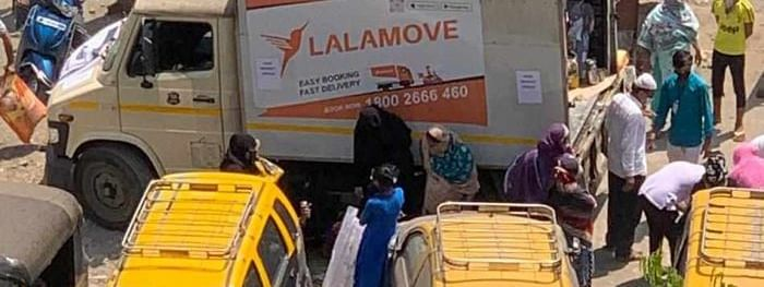 Helping in moving lives during lockdown: Lalamove