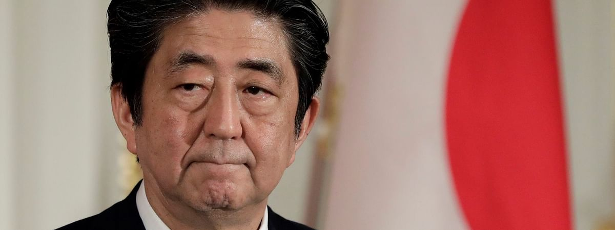 Japan PM criticised for his luxurious lounge setting on a Twitter video