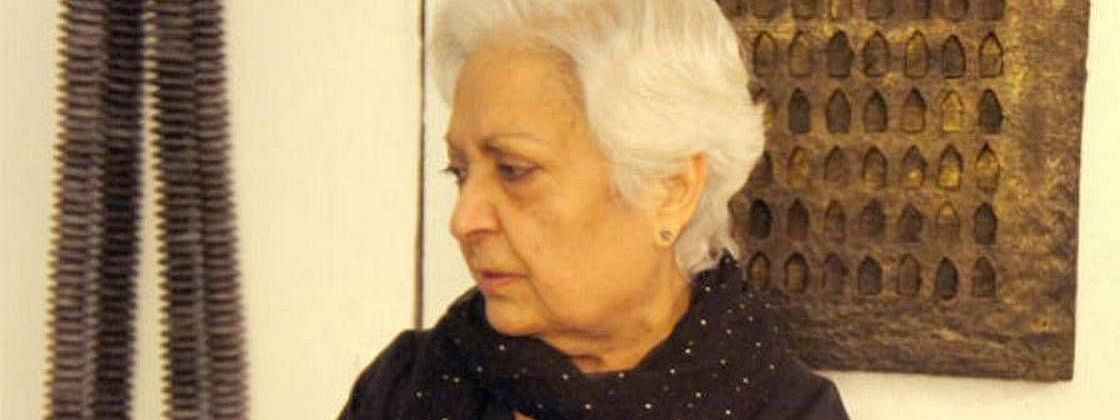 New York-based Indian artist Zarina Hashmi no more