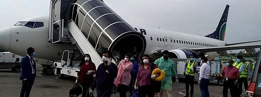 Stranded Bangladeshi citizens all set to fly back home