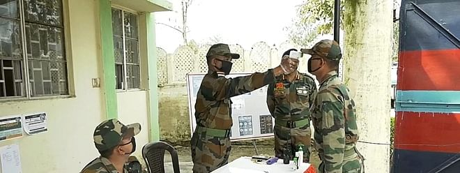 Army takes over management of India's largest COVID-19 quarantine centre in Delhi