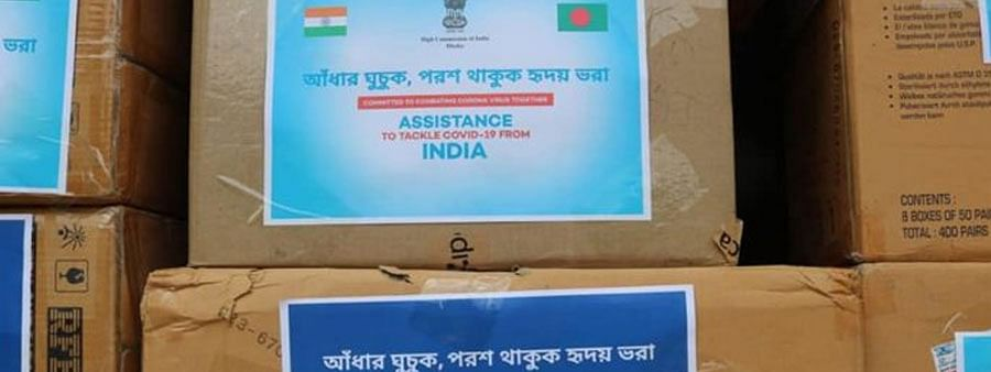 Second tranche of medical assistance presented to B'desh by India