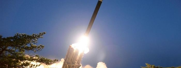 North Korea 'fires multiple suspected cruise missiles'