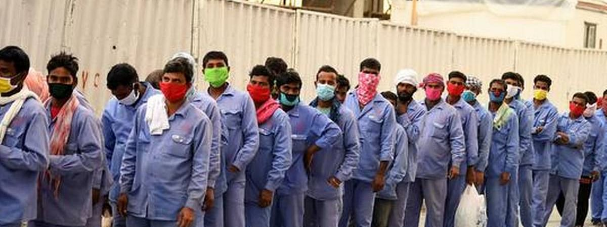Covid19 spreads among low income migrant workers in UAE and other Gulf countries