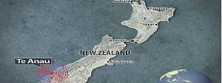 Magnitude 5.6 earthquake in New Zealand