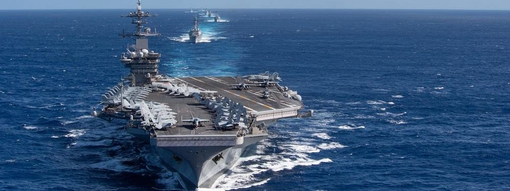 US Navy aircraft carrier Theodore Roosevelt