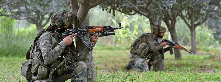 Two militants killed by security forces in Shopian encounter