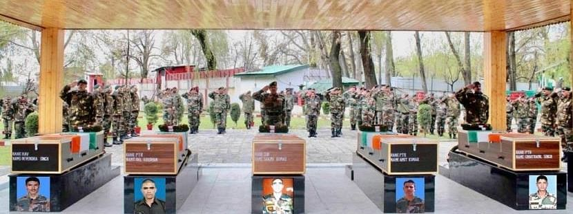 Army pays tribute to soldiers killed at LoC in Keran sector