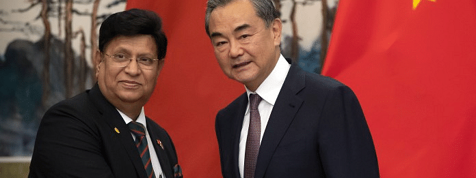 Chinese, Bangladeshi FMs talk by phone about COVID-19 cooperation