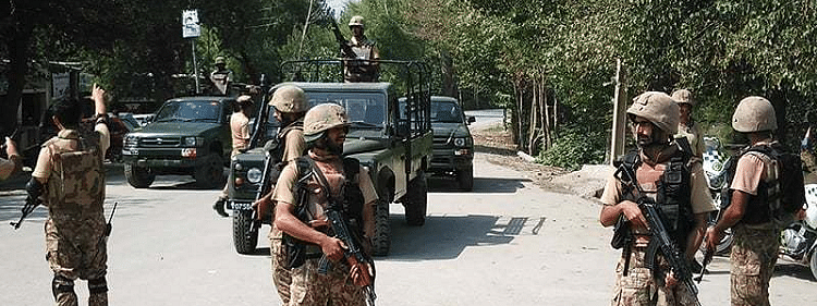 Seven terrorists killed in Pakistan