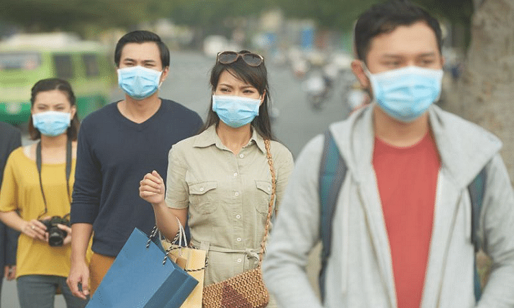 Face mask, even cloth mask for Public is good to prevent the spread of the virus
