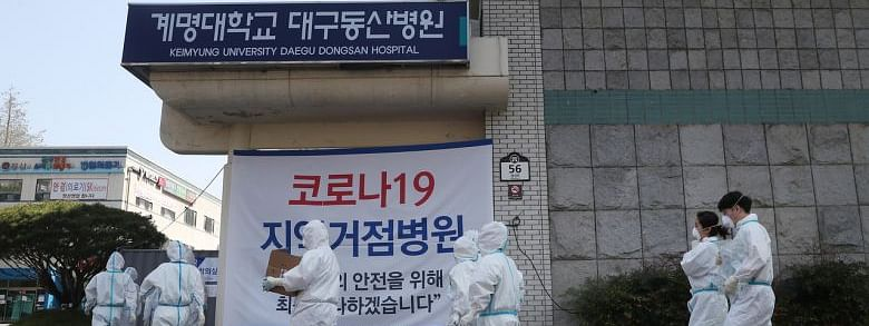 Cases in South Korea top 10,000