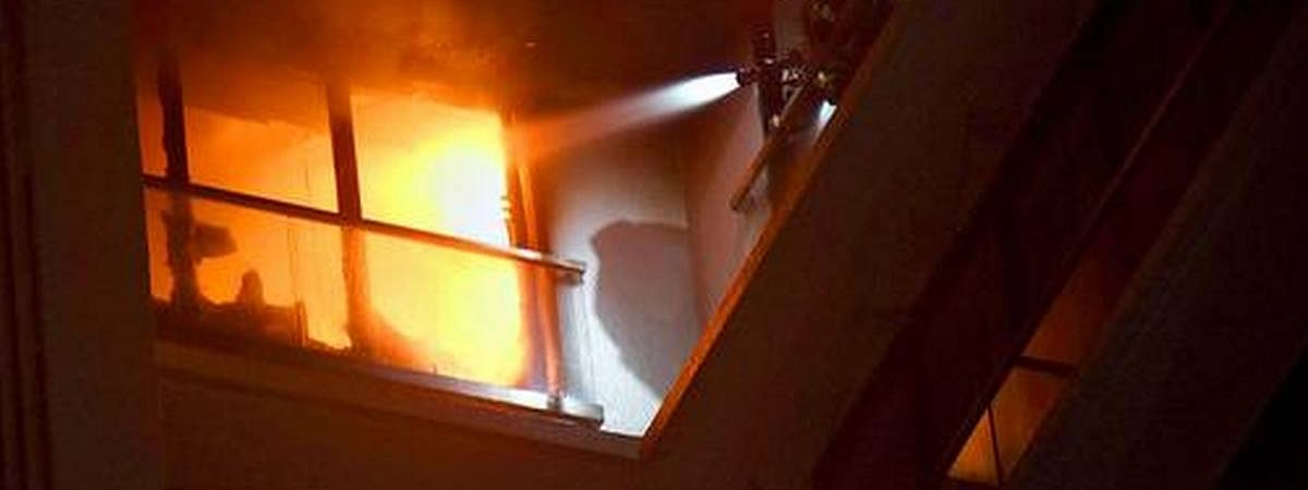 B'desh: Five COVID patients die in a fire at United hospital