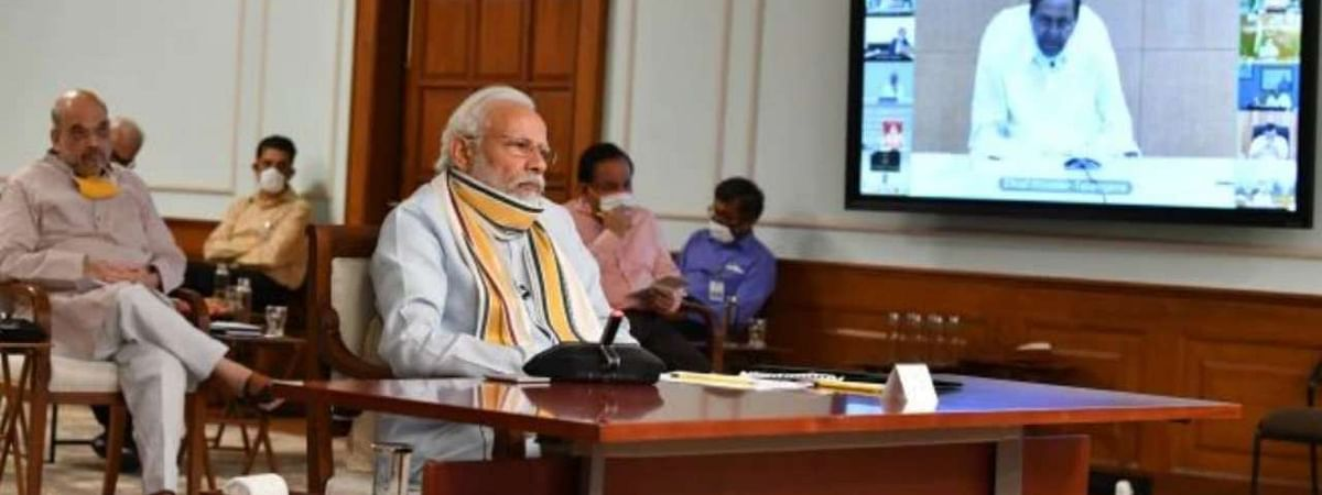 PM holds meeting with Chief Ministers, says states and UTs should plan for new reality