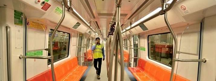 Delhi Metro spreads awareness on COVID-19 at construction sites using pictorial messages