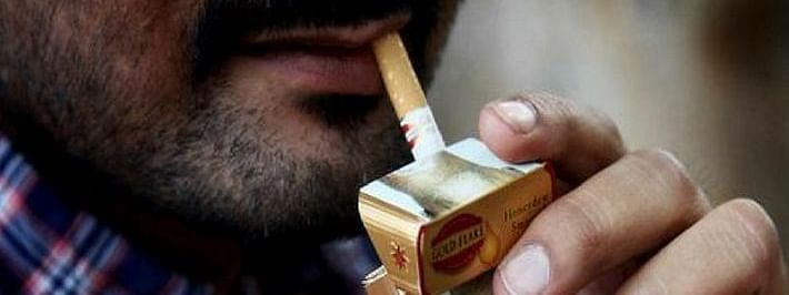 New specified health warning on tobacco products packs