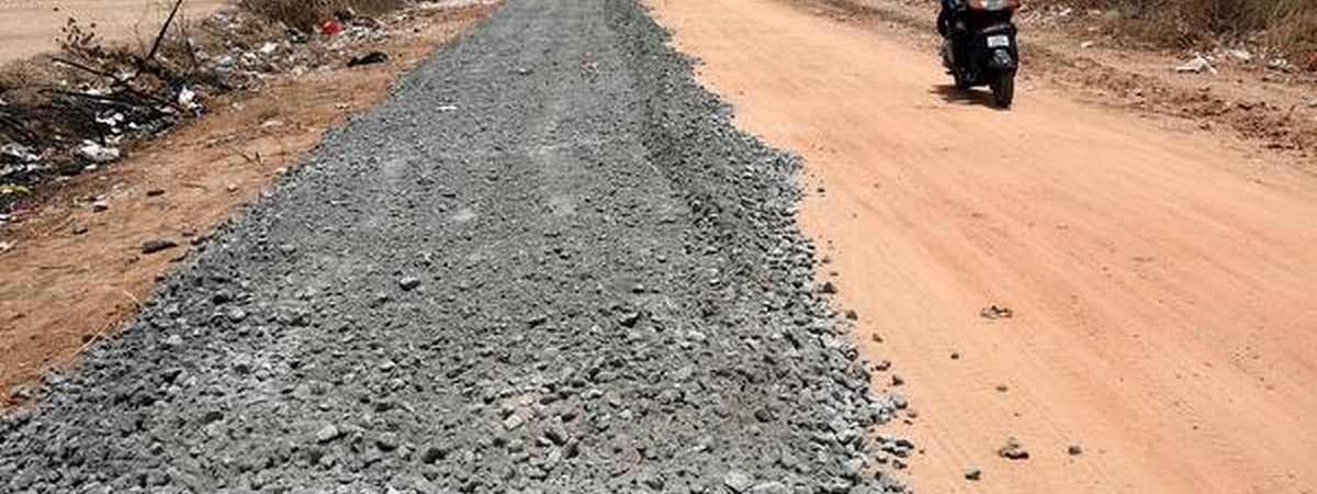 Construction of approach roads starts in Punjab Market