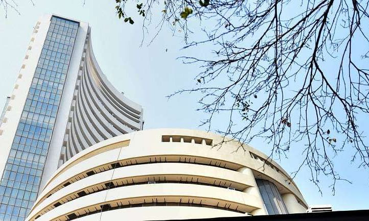 Sensex recovers over 200 pts