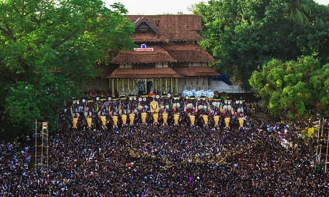 Lockdown forces cancellation of Thrissur Pooram
