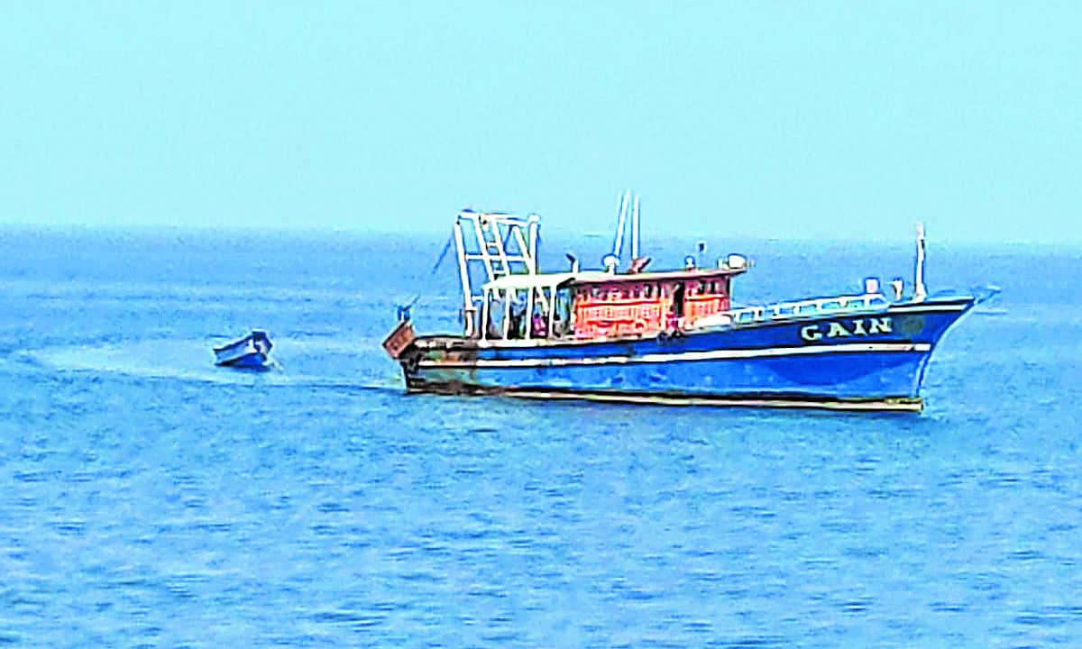 Fishermen advised to avoid deep sea fishing due to likely development of a low pressure