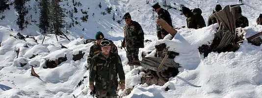 Army Officer and soldier killed in avalanche