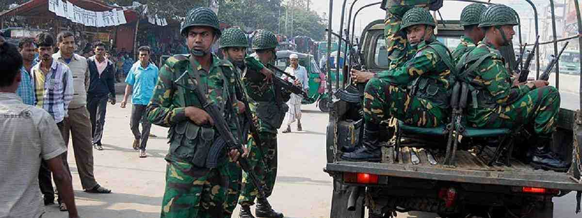 1020 Bangladesh armed forces member infected COVID-19