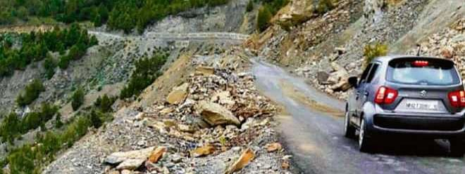 Manali-Leh highway opens for light vehicle