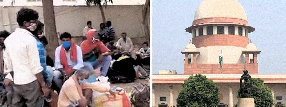 Govt cannot charge migrant workers for fare, food during journey back home: SC