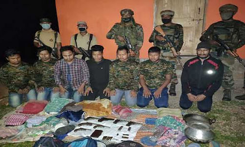 KLO 'area commander' held; recruitment module busted in Assam