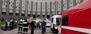 Fire at Russia hospital, five fatalities