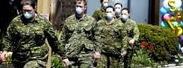 Five Canadian military members test positive for coronavirus